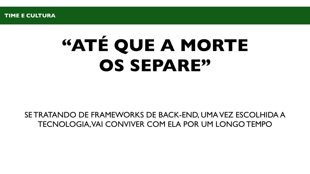 """""""ATÉ QUE A MORTE OS SEPARE"""" SE TRATANDO DE FRAM..."""