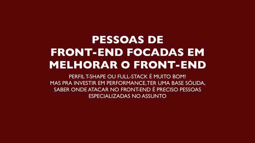 PESSOAS DE  FRONT-END FOCADAS EM MELHORAR O FR...