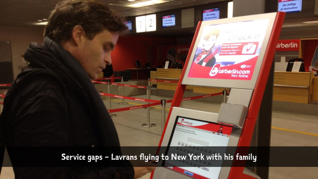 Service gaps – Lavrans flying to New York with ...