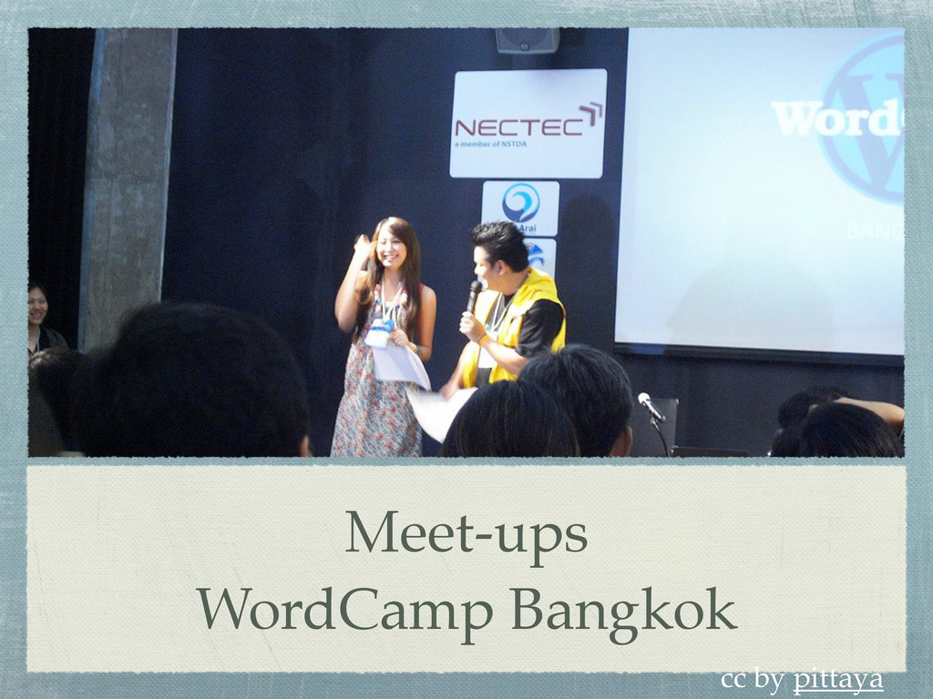 Meet-ups WordCamp Bangkok cc by pittaya