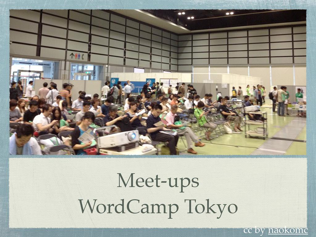 Meet-ups WordCamp Tokyo cc by naokomc