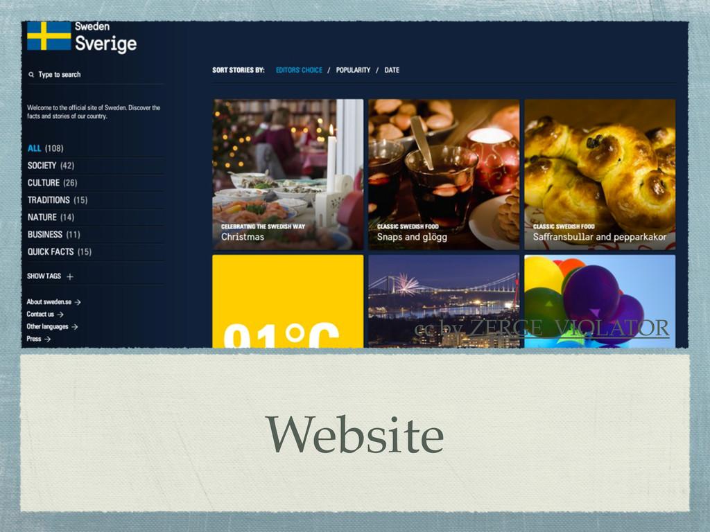 Website cc by ZERGE_VIOLATOR