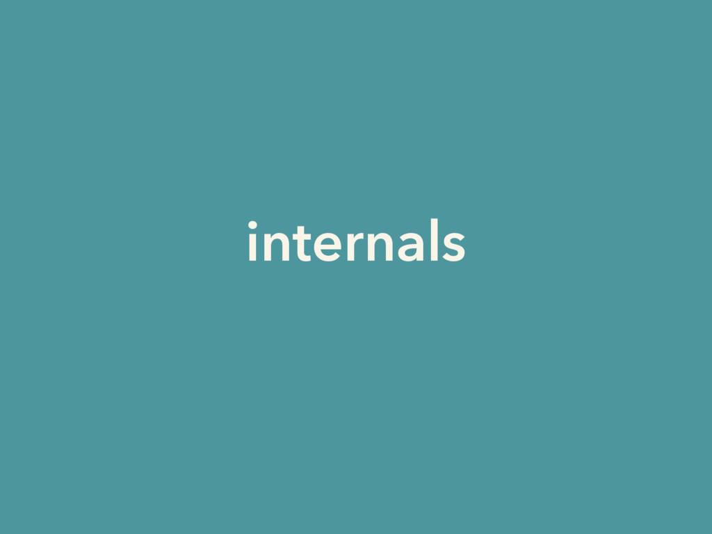 internals