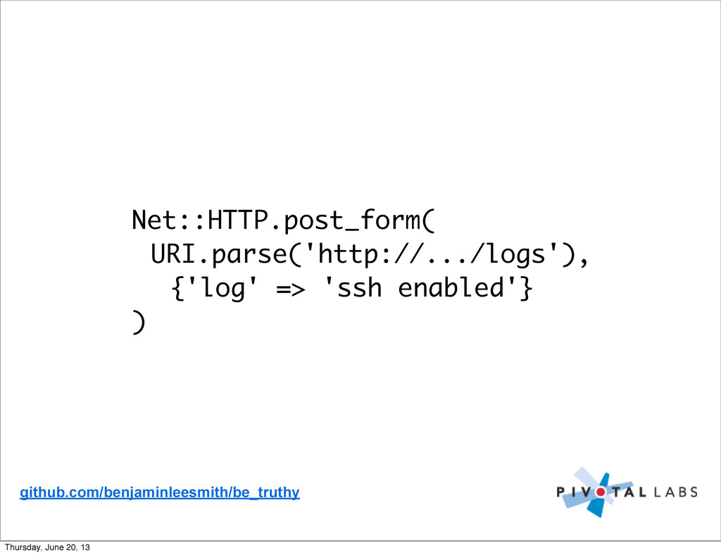Net::HTTP.post_form( URI.parse('http://.../logs...