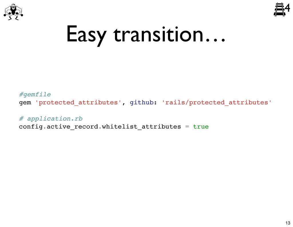 #gemfile gem 'protected_attributes', github: 'r...