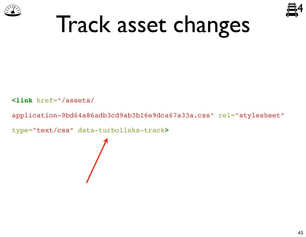 """Track asset changes 4 <link href=""""/assets/ appl..."""