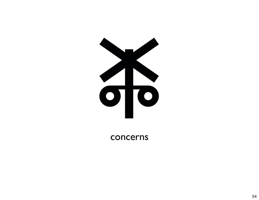 concerns 54
