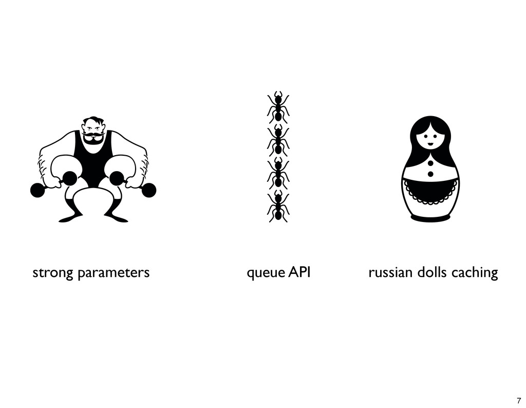 strong parameters queue API russian dolls cachi...