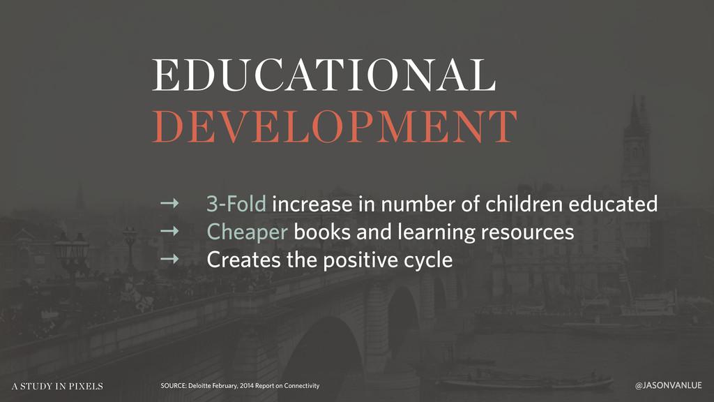 EDUCATIONAL DEVELOPMENT @JASONVANLUE A STUDY IN...