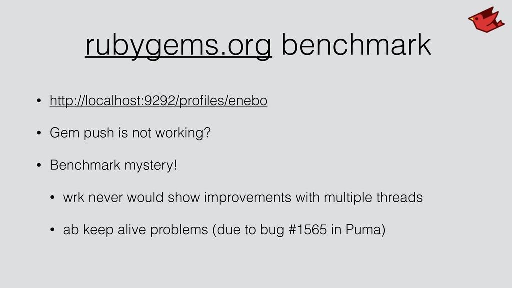 rubygems.org benchmark • http://localhost:9292/...