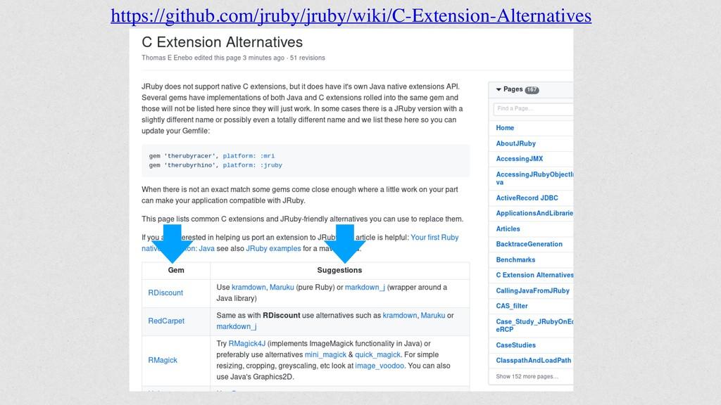 https://github.com/jruby/jruby/wiki/C-Extension...