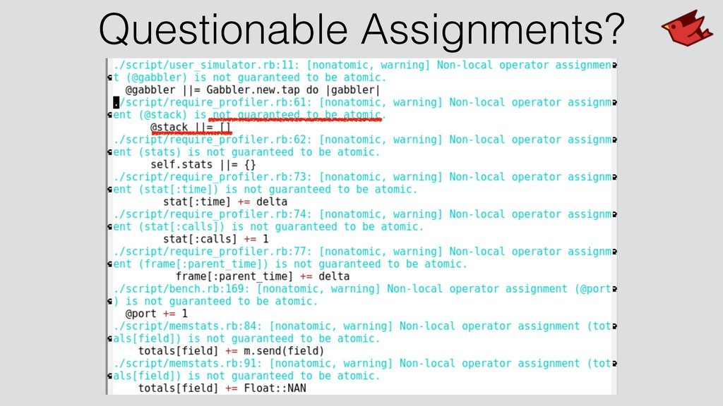 Questionable Assignments?