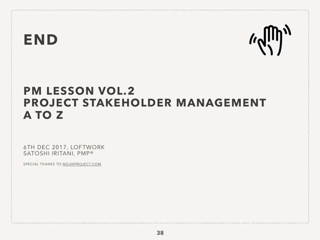 PM LESSON VOL.2 PROJECT STAKEHOLDER MANAGEMENT ...
