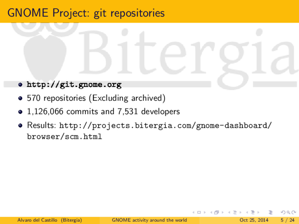 GNOME Project: git repositories http://git.gnom...
