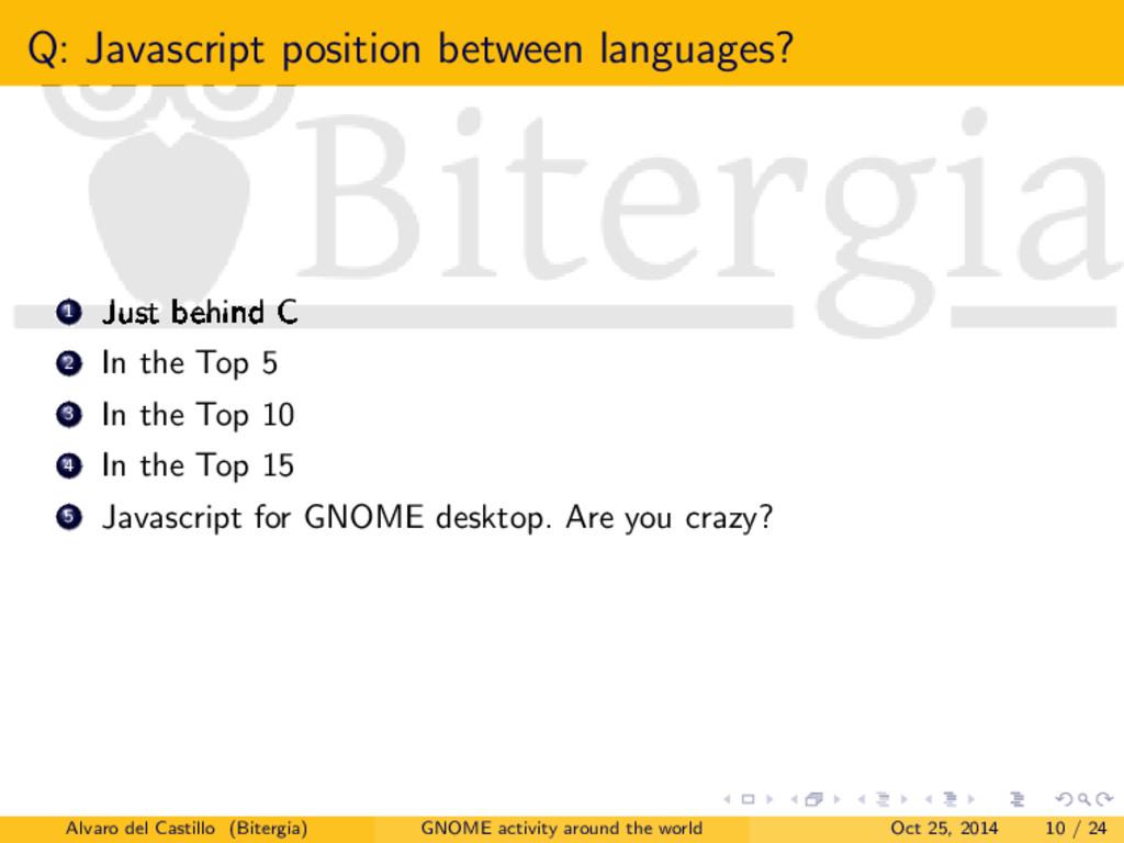 Q: Javascript position between languages? 1 Jus...