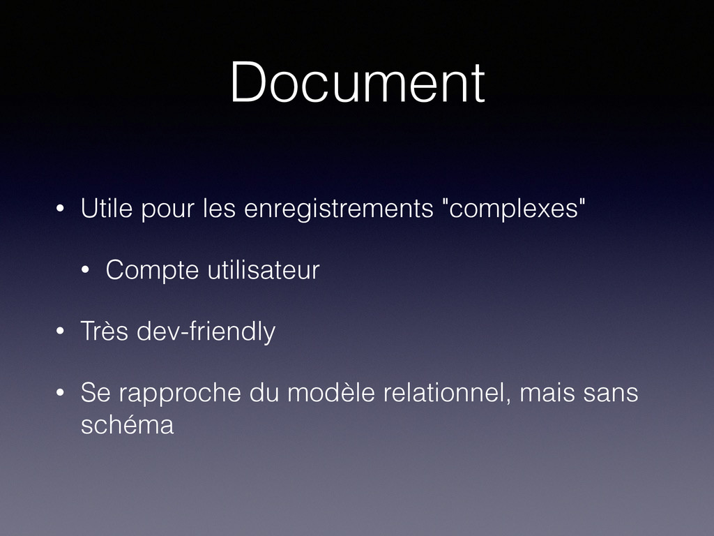 """Document • Utile pour les enregistrements """"comp..."""