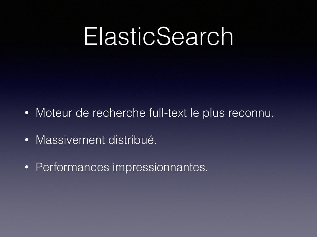ElasticSearch • Moteur de recherche full-text l...