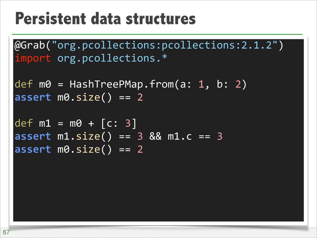 """Persistent data structures !67 @Grab(""""org.pcoll..."""