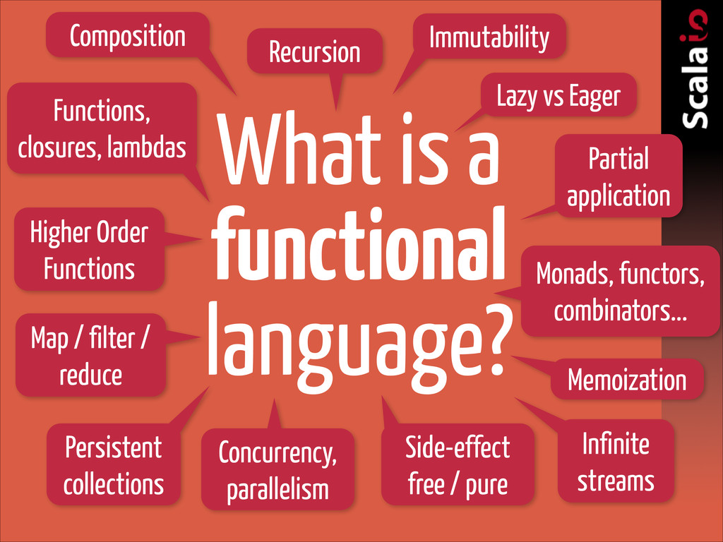What is a functional language? Functions, closu...