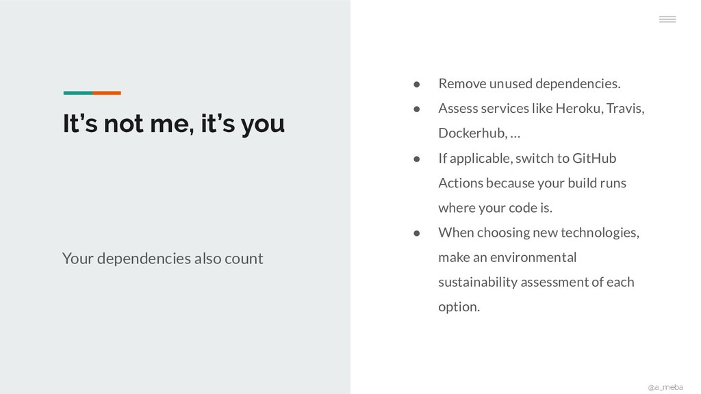 It's not me, it's you ● Remove unused dependenc...