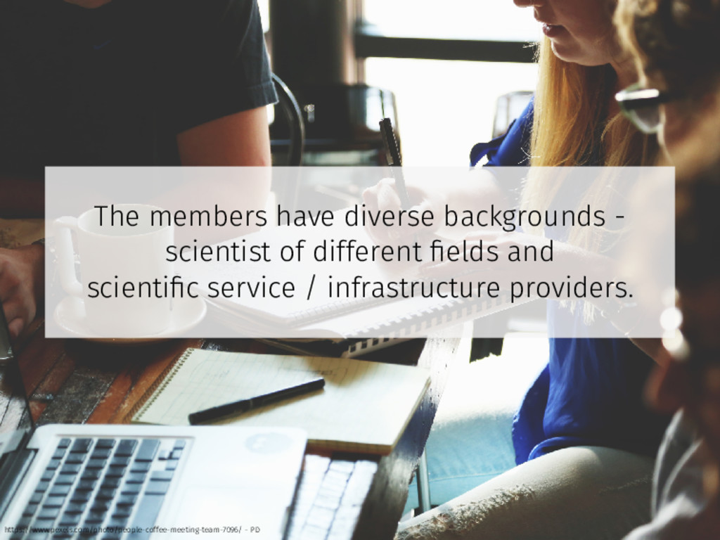 The members have diverse backgrounds - scientis...