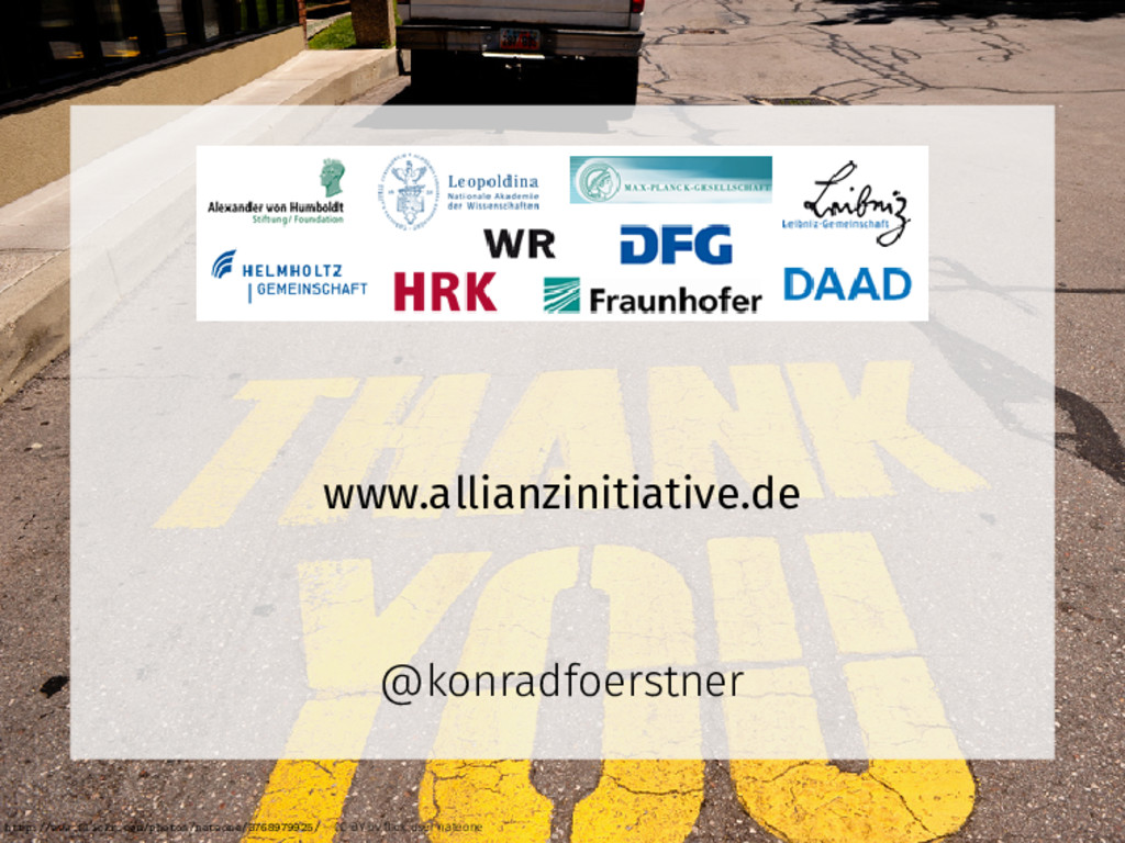 www.allianzinitiative.de @konradfoerstner http:...