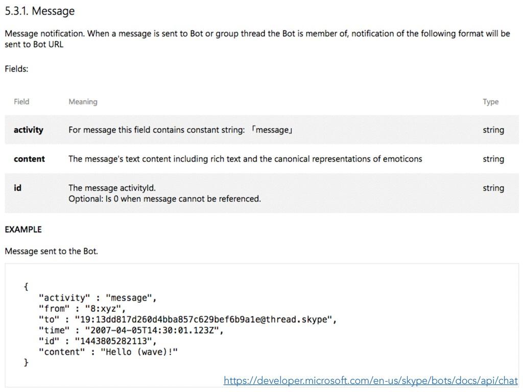 https://developer.microsoft.com/en-us/skype/bot...
