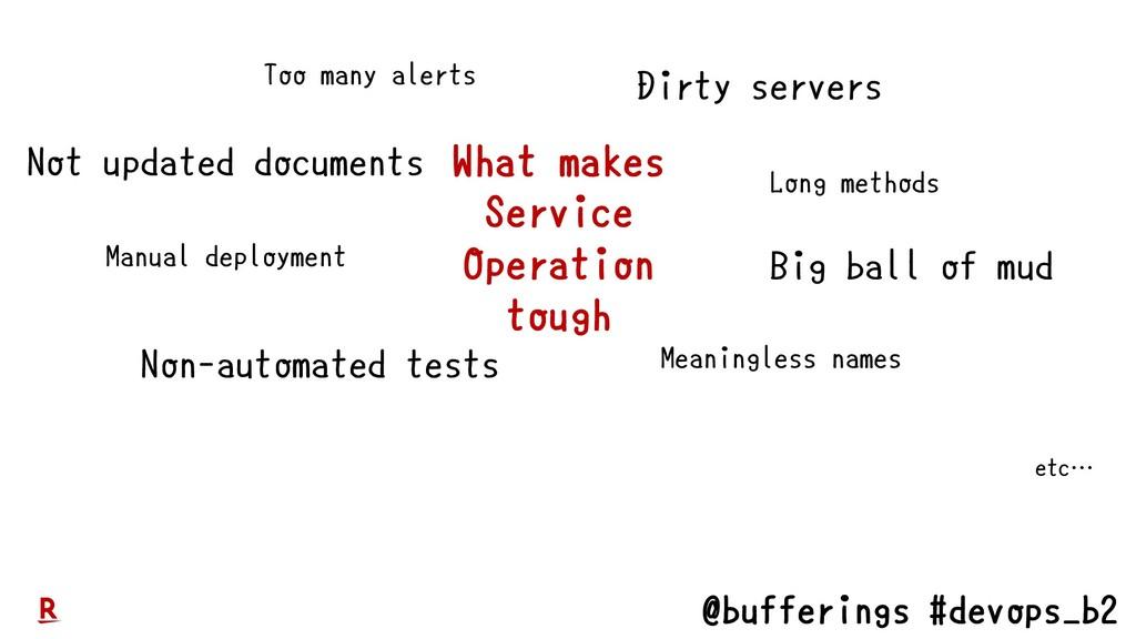 @bufferings #devops_b2 Too many alerts Non-auto...