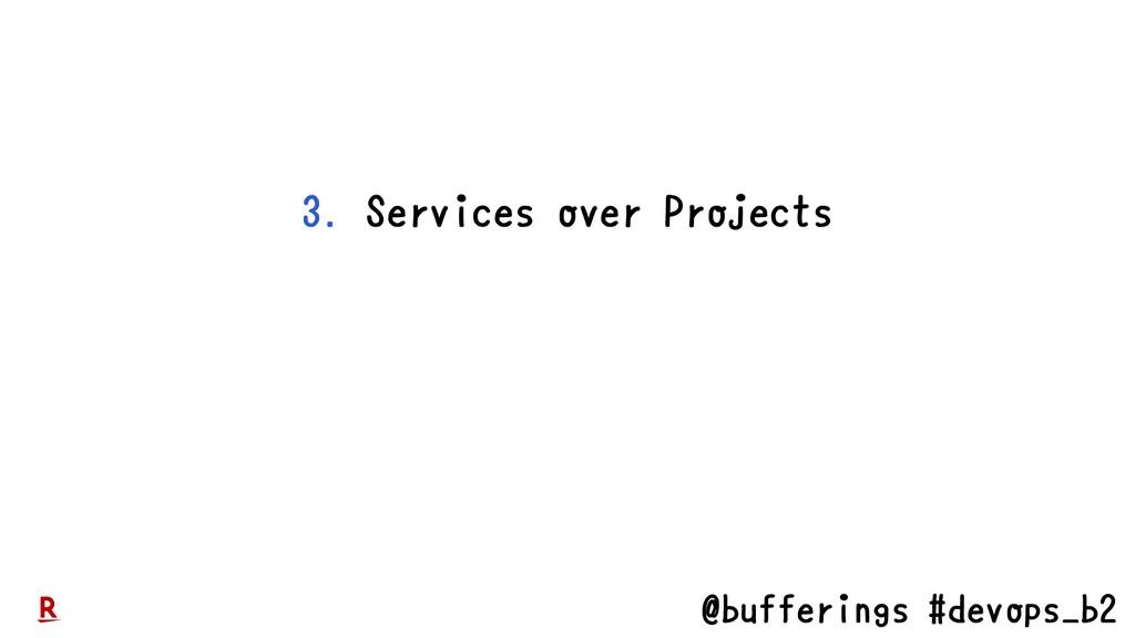 @bufferings #devops_b2 3. Services over Projects