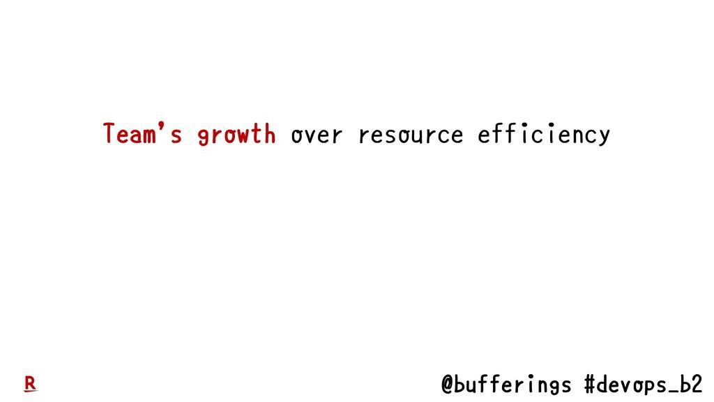 @bufferings #devops_b2 Team's growth over resou...