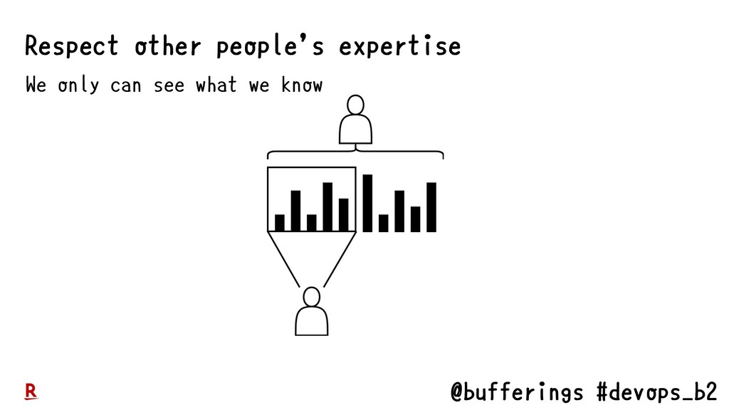 @bufferings #devops_b2 We only can see what we ...