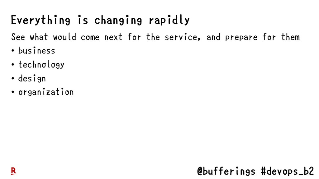 @bufferings #devops_b2 See what would come next...