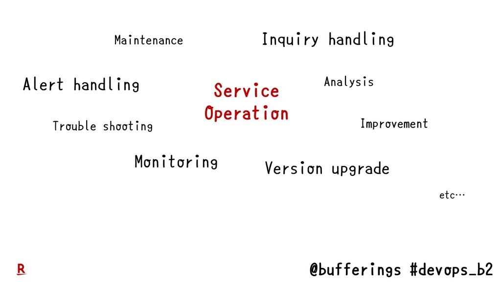 @bufferings #devops_b2 Maintenance Monitoring T...