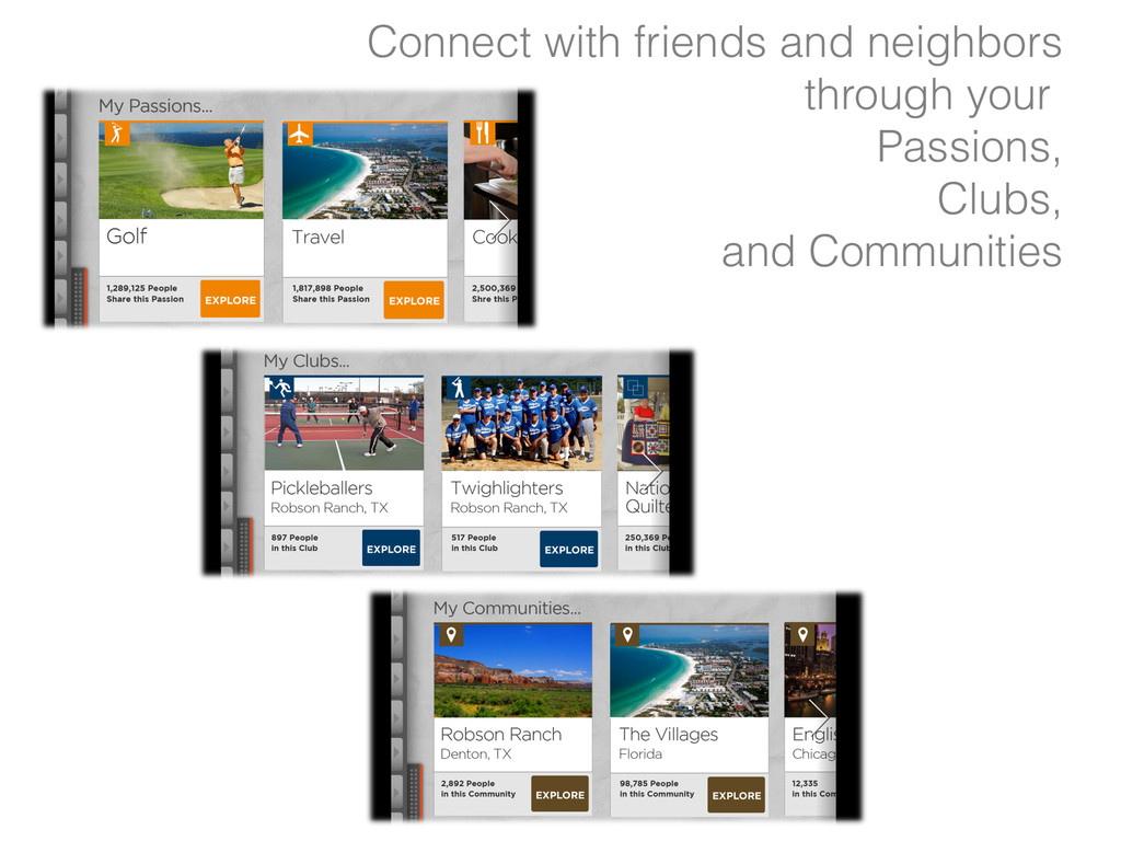 Connect with friends and neighbors through your...