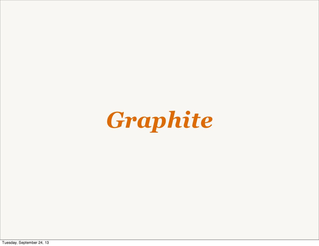 Graphite Tuesday, September 24, 13