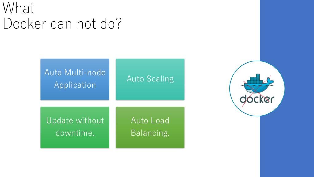 What Docker can not do? Auto Multi-node Applica...
