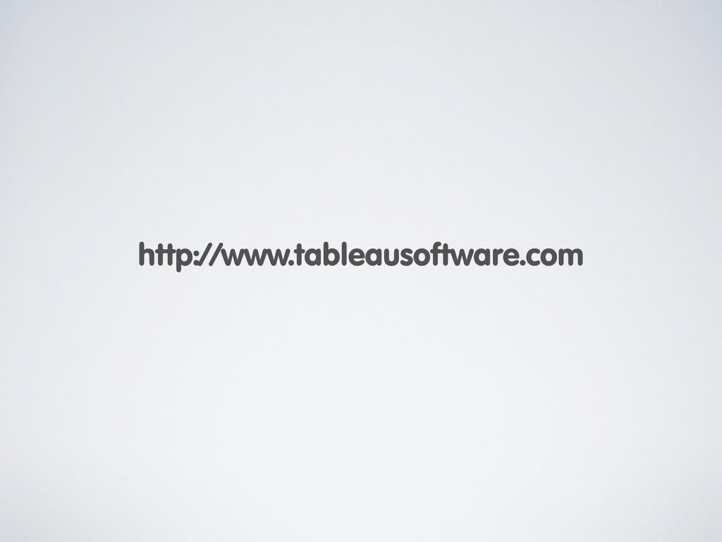 http://www.tableausoftware.com