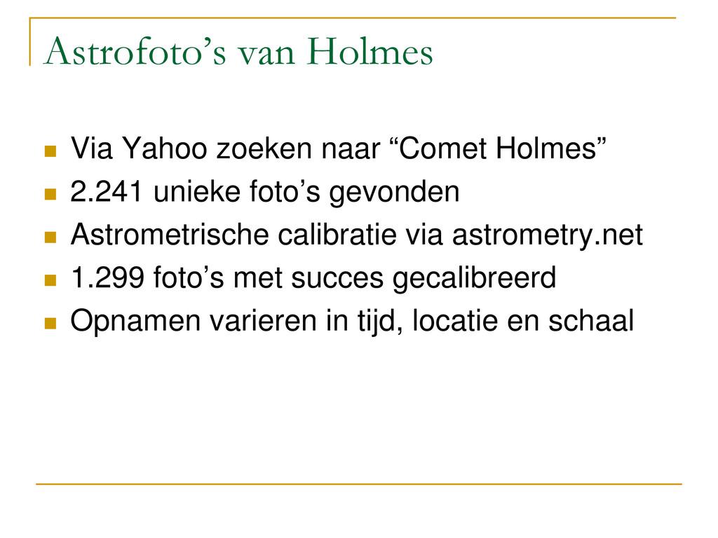Astrofoto's van Holmes  Via Yahoo zoeken naar ...