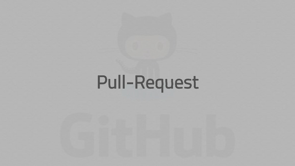Pull-Request