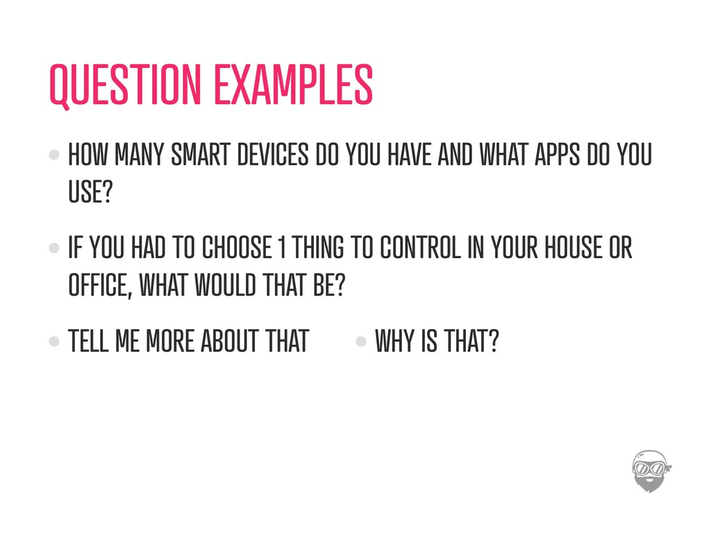 QUESTION EXAMPLES HOW MANY SMART DEVICES DO YOU...