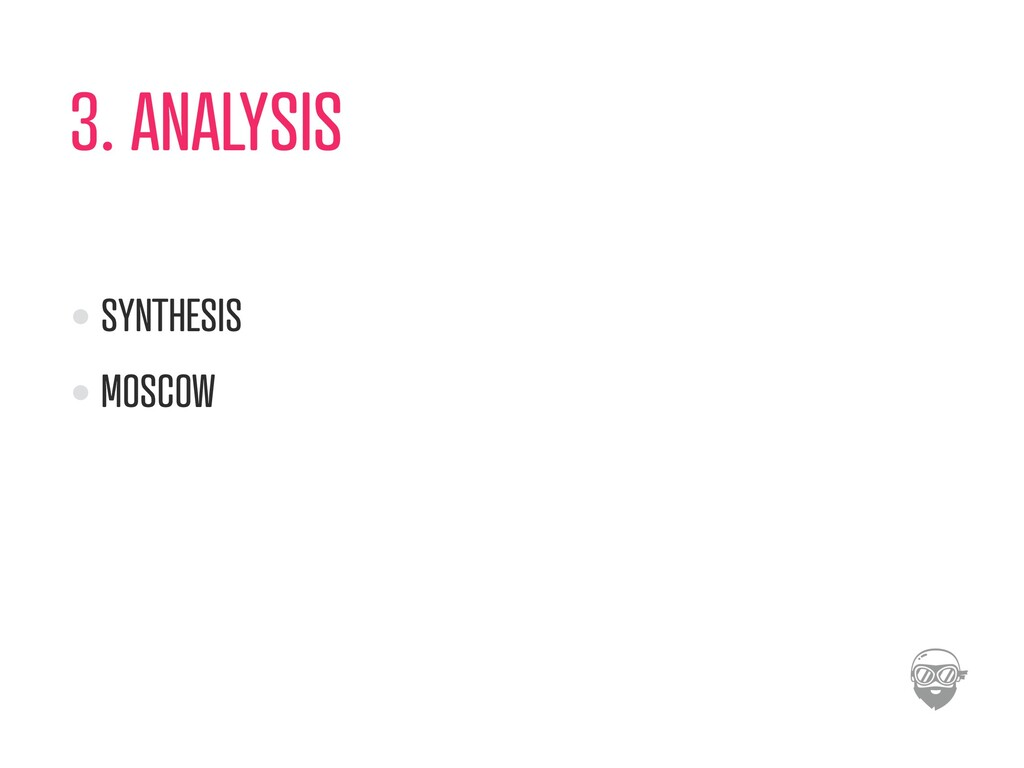 3. ANALYSIS SYNTHESIS MOSCOW