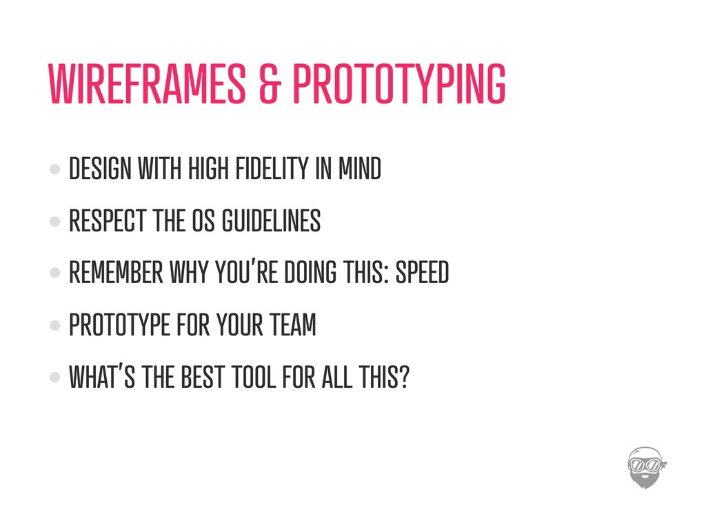 WIREFRAMES & PROTOTYPING DESIGN WITH HIGH FIDEL...