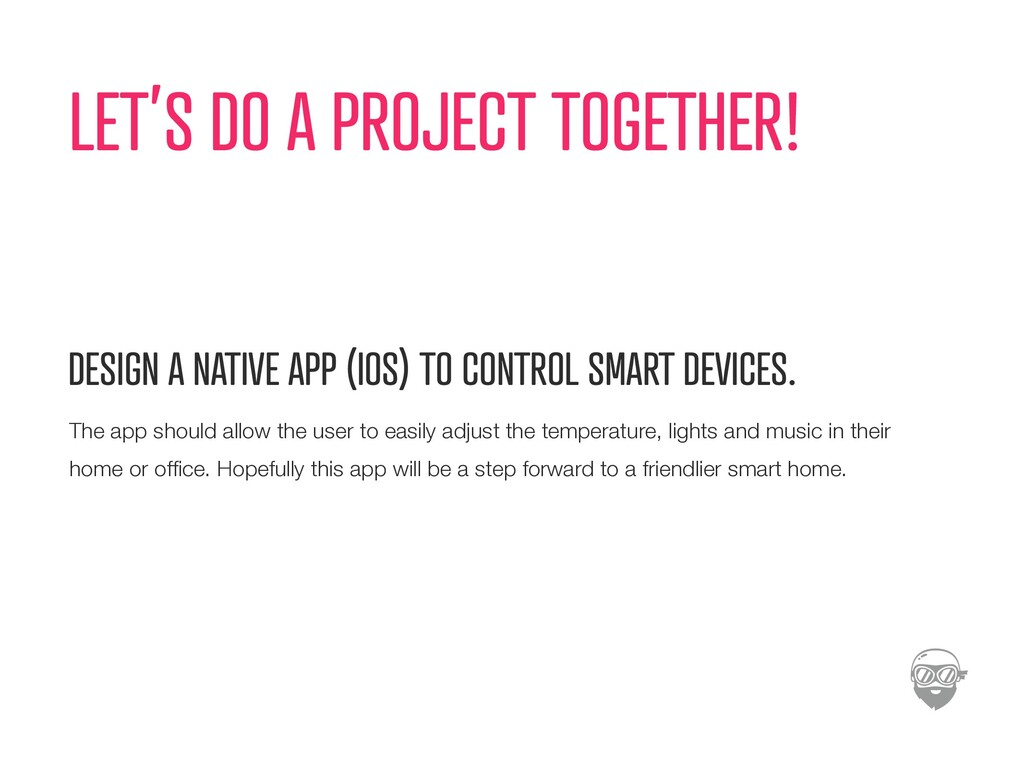 LET'S DO A PROJECT TOGETHER! DESIGN A NATIVE AP...