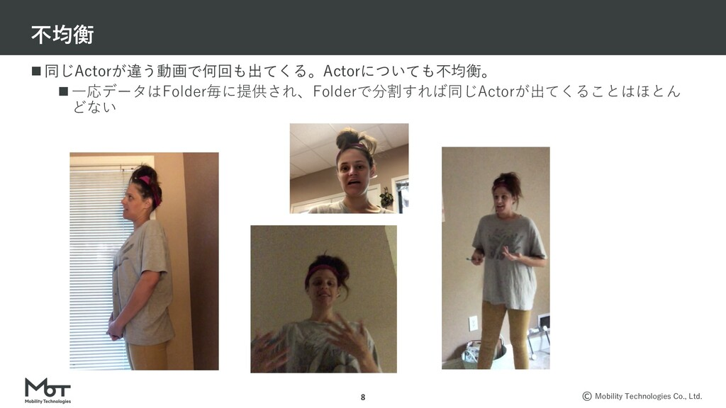 Mobility Technologies Co., Ltd. n 同じActorが違う動画で...