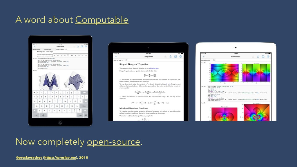 A word about Computable Now completely open-sou...