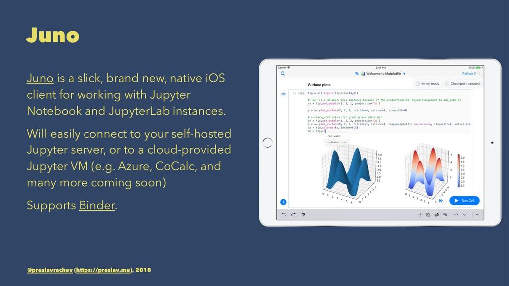 Juno Juno is a slick, brand new, native iOS cli...
