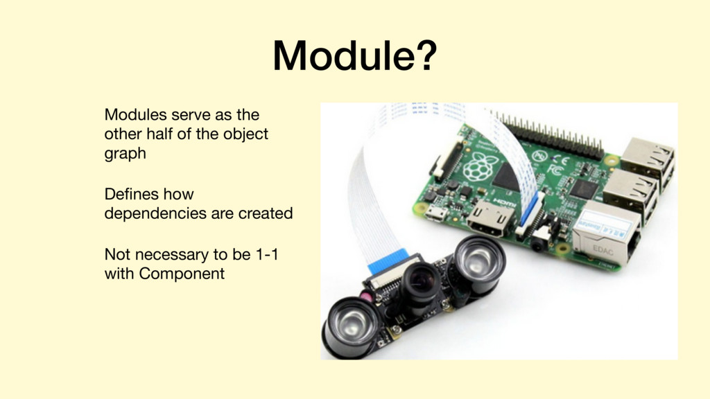 Module? Modules serve as the other half of the ...