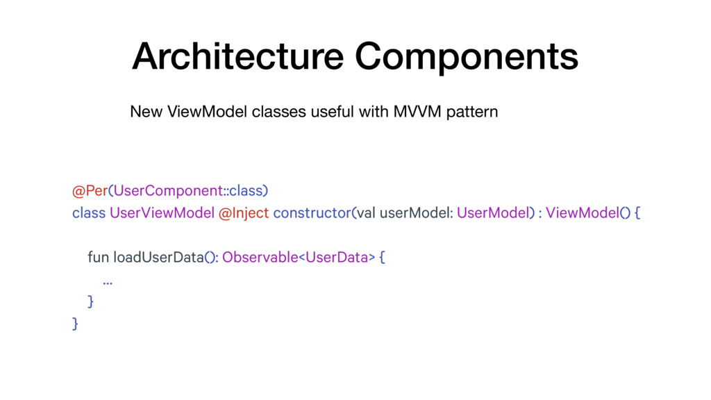 New ViewModel classes useful with MVVM pattern ...
