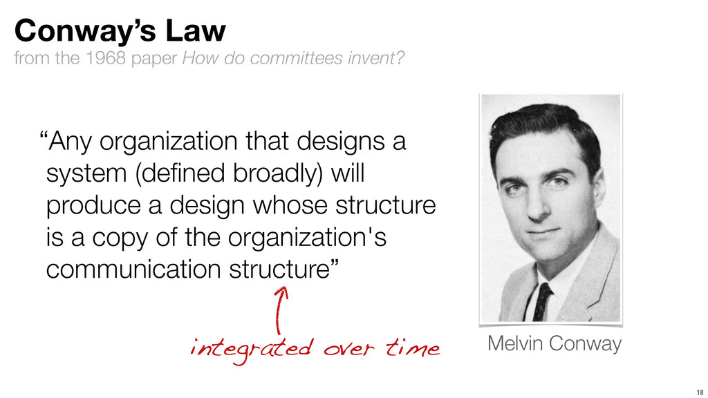 from the 1968 paper How do committees invent? 1...
