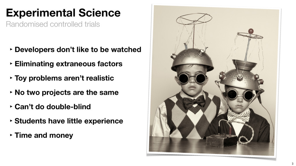 Randomised controlled trials 3 Experimental Sci...